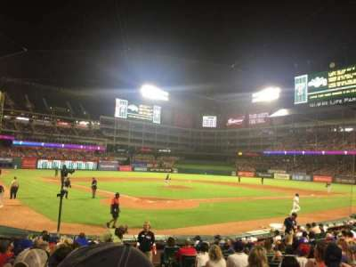 Globe Life Park in Arlington, section: 28, row: 10, seat: 25