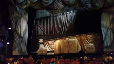 Majestic Theatre, section: Orch, row: J, seat: 102
