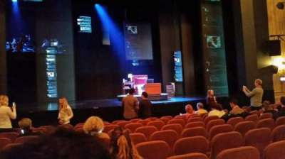 Music Box Theatre, section: Orchestra, row: K, seat: 112
