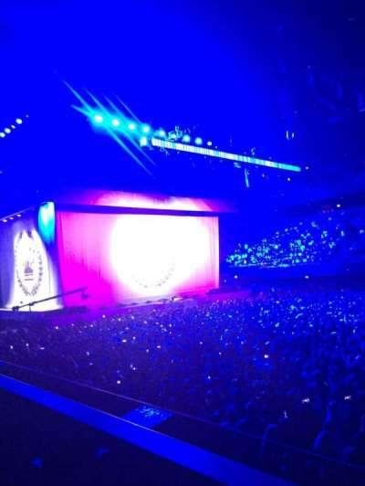 Ziggo Dome, section: 110, row: 1 , seat: 344