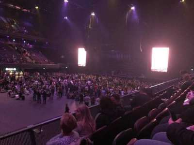 Ziggo Dome, section: 104, row: 4, seat: 104