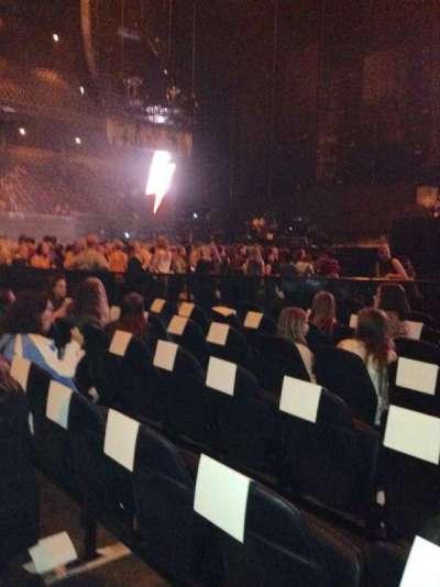 Ziggo Dome, section: A, row: 14, seat: 9