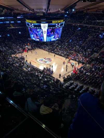 Madison Square Garden section 317