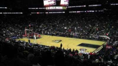 Prudential Center, section: 10, row: 22, seat: 9
