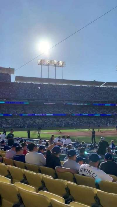 Dodger Stadium, section: 36FD, row: G, seat: 1