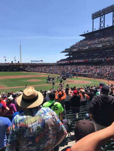 Oracle Park section 124