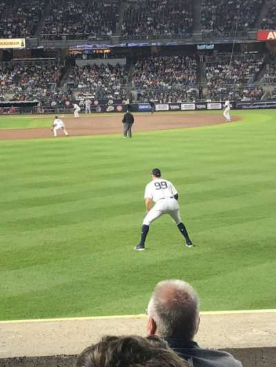 Yankee Stadium section 104