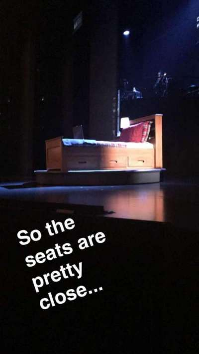 Music Box Theatre, section: Right Orchestra, row: B, seat: 10