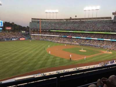 Dodger Stadium, section: Executive Club, row: D, seat: 3