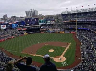 Yankee Stadium section 421