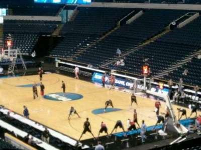 Bridgestone Arena, section: 108, row: Q, seat: 1