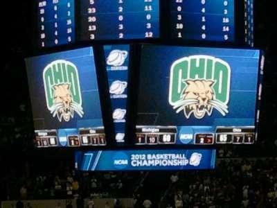 Bridgestone Arena, section: 108, row: Q, seat: 2