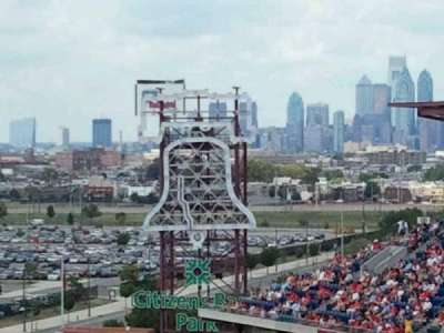 Citizens Bank Park section 412V