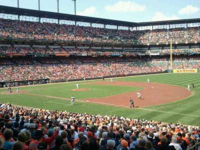 Oriole Park at Camden Yards section 13