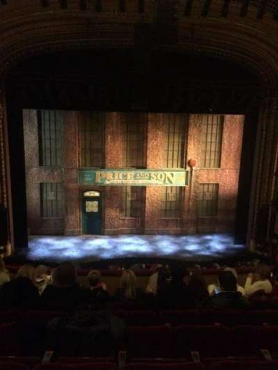 Al Hirschfeld Theatre, section: Mezz Center, row: H, seat: 110