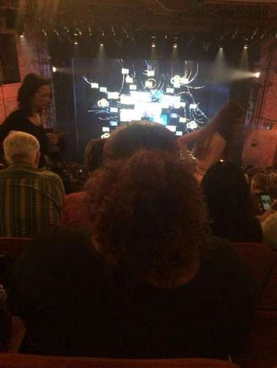 August Wilson Theatre, section: Mezz C, row: M, seat: 112