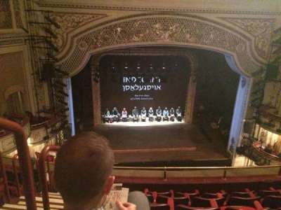 Cort Theatre, section: Balcony, row: F, seat: 101