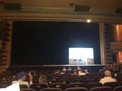American Airlines Theatre, section: Orch Center, row: N, seat: 111