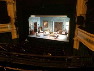 Hudson Theatre, section: Dress Circle, row: C, seat: 6