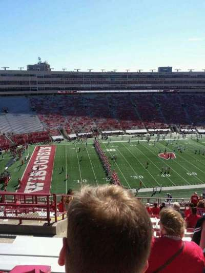 Camp Randall Stadium, section: kk, row: 23, seat: 30