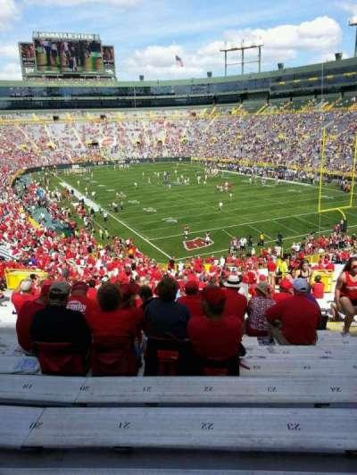 Camp Randall Stadium, section: 134, row: 50, seat: 23