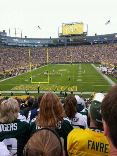 Lambeau Field, section: 137, row: 40, seat: 2