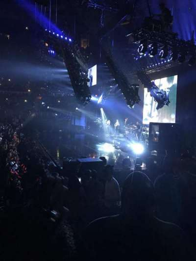 Philips Arena, section: 102, row: J, seat: 3