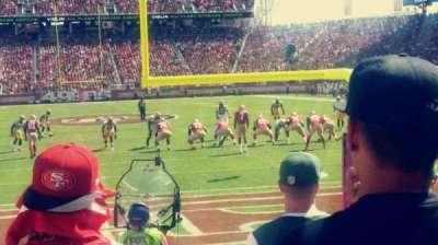 Levi's Stadium section 103