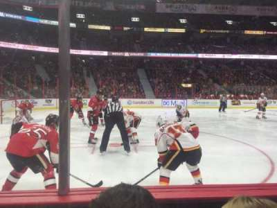 Canadian Tire Centre, section: 118, row: B, seat: 8
