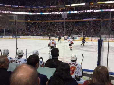 First Niagara Center, section: 105, row: 5, seat: 15