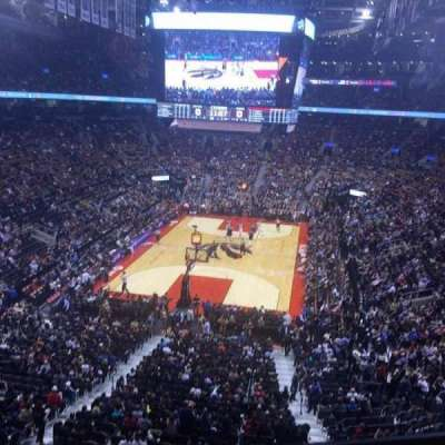 Air Canada Centre, section: 314, row: 1, seat: 15