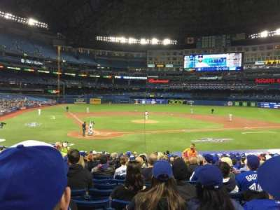 Rogers Centre, section: 119L, row: 24