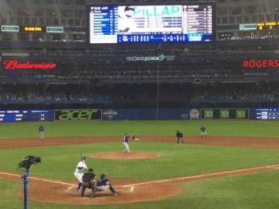 Rogers Centre, section: 121R, row: 17, seat: 5