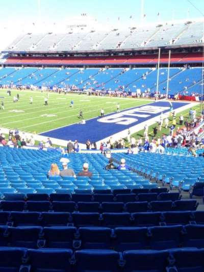 New Era Field, section: 125, row: 31, seat: 5