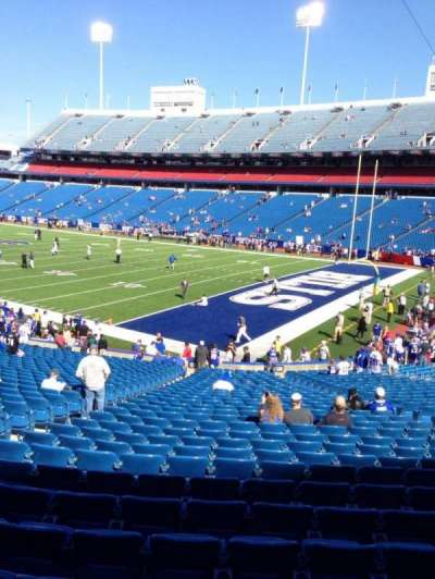 New Era Field, section: 125, row: 31, seat: 16