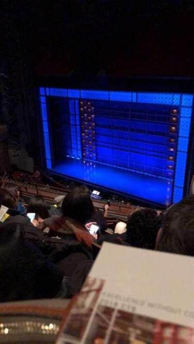 Stephen Sondheim Theatre, section: Mezz, row: GG