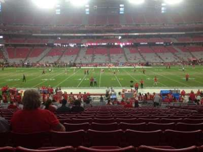 University of Phoenix Stadium section 130
