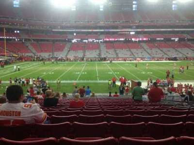 University of Phoenix Stadium section 131