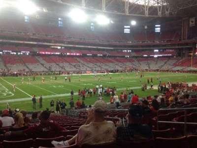 University of Phoenix Stadium section 134