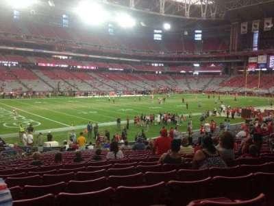 University of Phoenix Stadium section 135