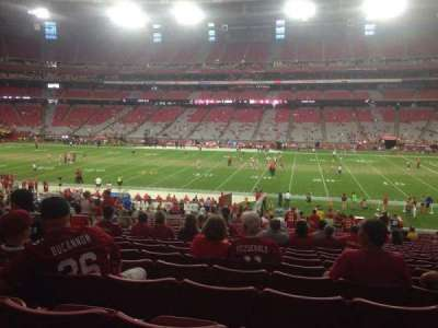 University of Phoenix Stadium section 127