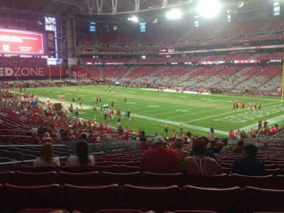 University of Phoenix Stadium section 122