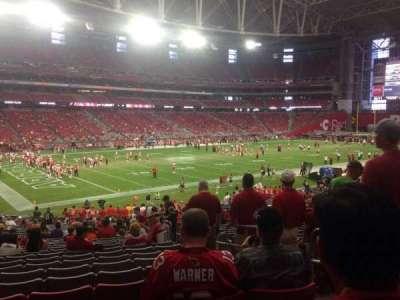 University of Phoenix Stadium section 114