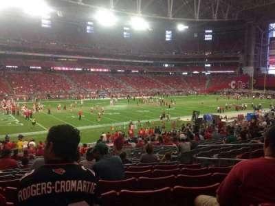 University of Phoenix Stadium section 113