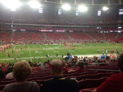 University of Phoenix Stadium section 112