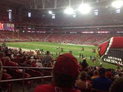 University of Phoenix Stadium section 103