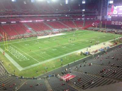 University of Phoenix Stadium section 420