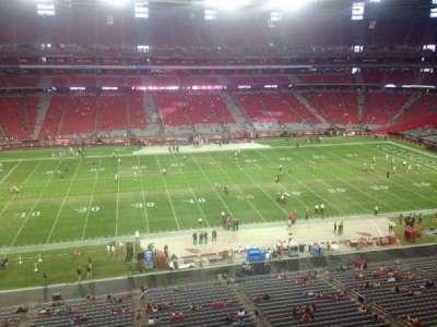 University of Phoenix Stadium section 414