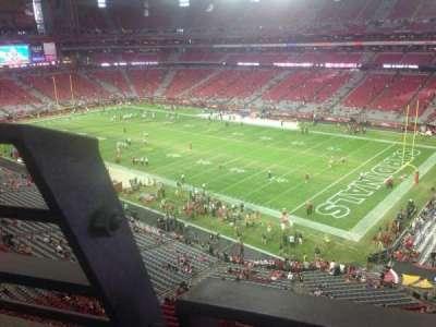 University of Phoenix Stadium section 404