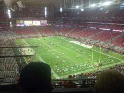 University of Phoenix Stadium section 401
